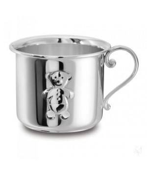 Чашка серебряная детская