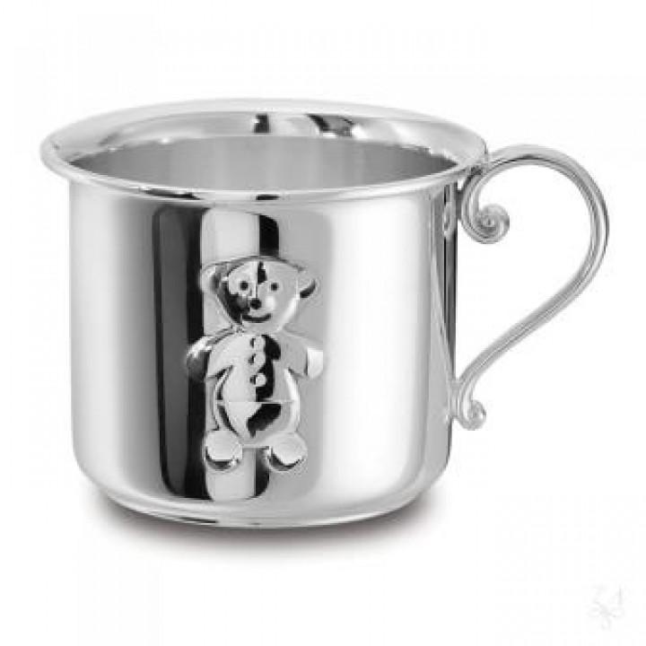 Серебряная  чашка Zaramella Argenti для детей
