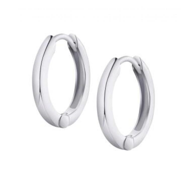 Серебряные серьги- кольца  Comero Group