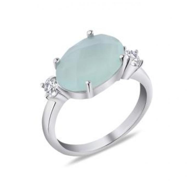 Серебряное  кольцо Comero Group c кварцем