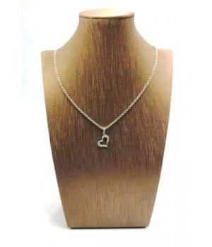 Золотое колье Igor Kalita  с бриллиантовым сердцем