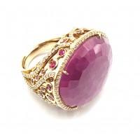 Кольцо Рубиновый перстень
