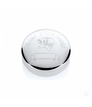 Серебряная коробочка  Zaramella Argenti на первый зубик